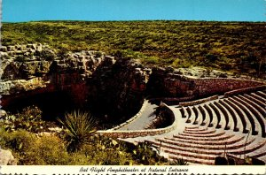New Mexico Carlsbad Caverns Bat Flight Amphitheater At Natural Entrance