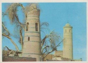 Uzbekistan Postcard - Dishan-Kala, The Minarets of The District Mosques  RR8851