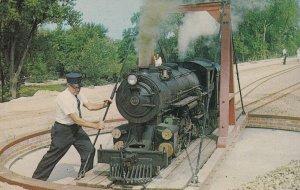QUINCY, Illinois, 1950-1960's; Quinsippi Central Railroad, Quinsippi Island ;...