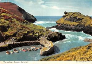 THe Harbour Boats Boscastle Cornwall