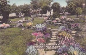 West Virginia Lewisburg In the Gardens General Lewis Hotel