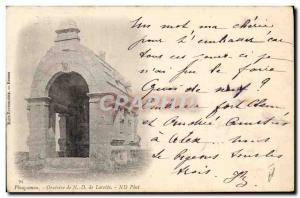 Postcard Old Oratory Insurance Plougasnou ND Lorette Societe Switzerland Wint...