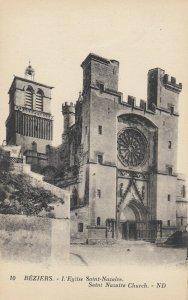 BEZIERS , France, 1900-1910s; Saint Nazaire Church