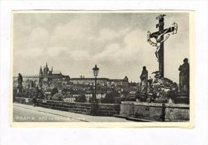 PRAHA , Kriz na Karlove moste, Czech Republic, 1910-30s