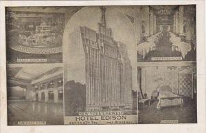 New York City Hotel Edson Green Room Bar Dining Room Ball Room & Typical Chamber