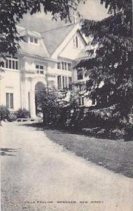 New Jersey Mendham Villa Pauline Artvue