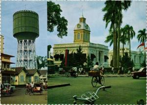 CPM Medan, North Sumatra, water tower and city hall INDONESIA (727045)