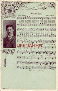 WONDERFUL BOOK - Words: Lizzie DeArmond, Music: Howard E. Smith pre-1907