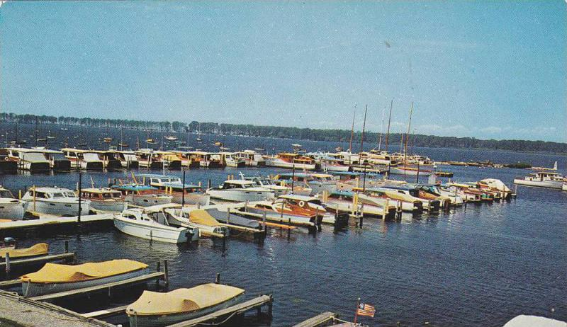 Small Boat Anchorage, Dock, The Erie Yacht Club, Great Lakes Region