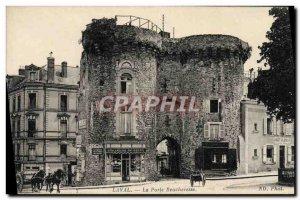 Old Postcard Laval La Porte Beuchere Carriages