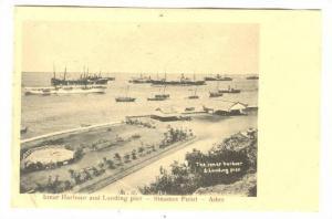 Inner harbour & Landing Pier , Aden , Yemen, 1890s