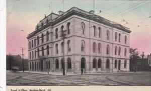 Illinois Springfield The Post Office