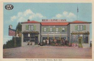 CALLANDER , Ontario , Canada , 1930s ; Red-Line-Inn