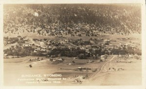 RP: SUNDANCE , Wyoming , 1910-30s ; Air View
