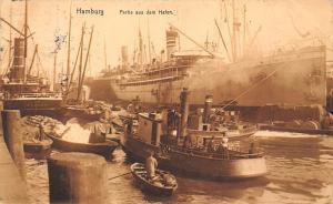 Hamburg Partie aus dem Hafen Schiff Ship Boats Port Bateaux