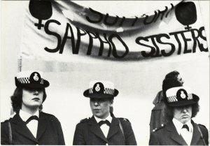CPM SUE SANDERS, GAY PRIDE WEEK, LONDON 1979 (d1585)