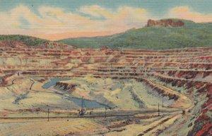 SANTA RITA , New Mexico , 1930-40s ; Open Pit Copper Mine