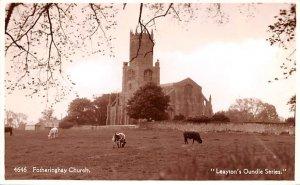 Fotheringhay Church United Kingdom, Great Britain, England Unused
