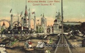 Witching Waves, Luna Park, Coney Island, NY USA Coney Island Amusement Park P...