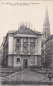 NANTES, Loire Atlantique, France, 1900-1910´s; Hotel Des Postes Et Telegraphes C