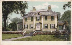 Massachusetts Cambride Longfellows House 1908