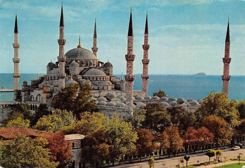 Turkey Istanbul The Blue Mosque, Sultanahmet Camii Balue Moschee