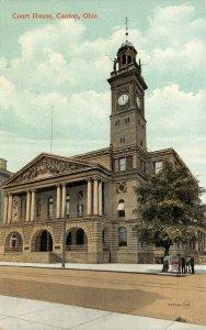 LP14  Canton  Ohio Postcard Court House