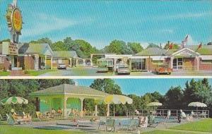Mississippi Vicksburg Magnolia Motor Hotel &  Restaurant