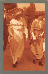 Wimbledon Edwardian woman fashion 1914 Nostalgia Reprint