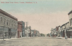 FLANDREAU , South Dakota , 1900-10s ; Main Street
