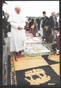 1985 Pope Paul Visit to Belgium, unused