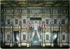 Postcard Modern Olympic Theater Vicenza the Scene
