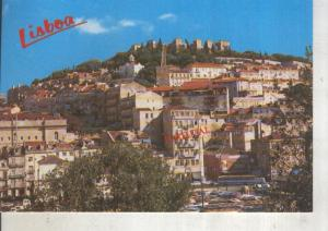 Postal 014094: Castillo de San Jorge en Lisboa, Portugal