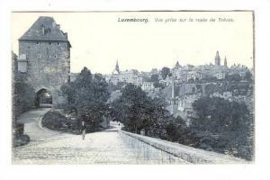 Vue Prise Sur La Route De Trèves, Luxembourg, 1900-1910s