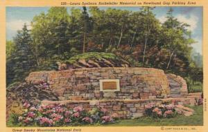 Tennessee Smoky Mountains Laura Spelman Rockefeller Memorial On Newfound Gap ...