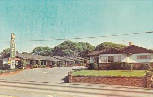 Franciscan Motel, Entrance, MONTEREY, California, 40-60´