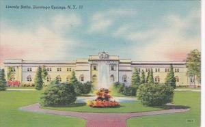 New York Saratoga Springs The Washington Baths