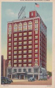 Illinois Waukegan Hotel Waukegan Curteich