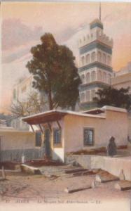 Algeria Alger La Mosquee Sidi Abderrhaman