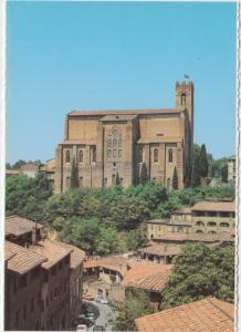 Siena, Basilica di San Domenico, unused card