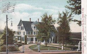 New Hampshire Concord Pleasant View Home Of Rev Mary Baker G Eddy 1906