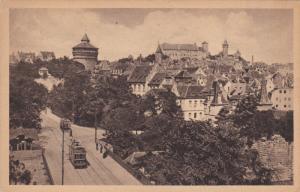 NURNBERG, Bavaria, Germany, 1900-1910´s; Hallertorpanorama