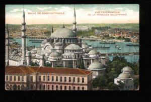 025182 CONSTANTINOPLE Mosque Suleymanie Vintage PC