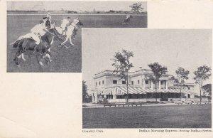 2-Views, Country Club, Polo, Buffalo Morning Express, BUFFALO, New York, 1901-07