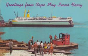 Cape May [New Jersey] to LEWES [Delaware] Ferry , 50-60s : #1