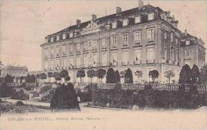 Germany Bruehl Gruss Aus Konigl Schloss 1906