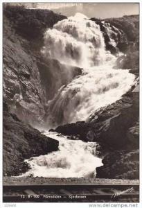 RP, Kjosfossen, FLAMSDALEN, Norway, 1920-1940s
