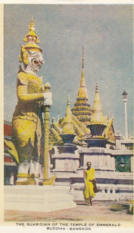 The Guardian of the Temple of Emmerald Buddha - BANGKOK , Thailand , 30-50s