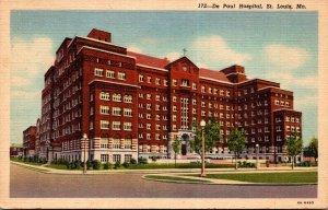 Missouri St Louis The De Paul Hospital Curteich