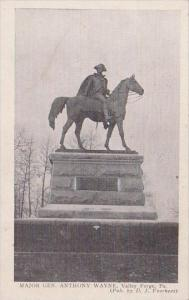 Pennslyvania Valley Forge Major Gen Anthony Wayne